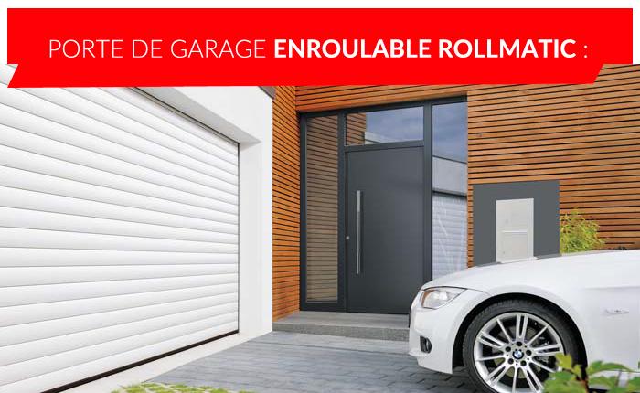 Porte de garage enroulable Rollmatic à Liège
