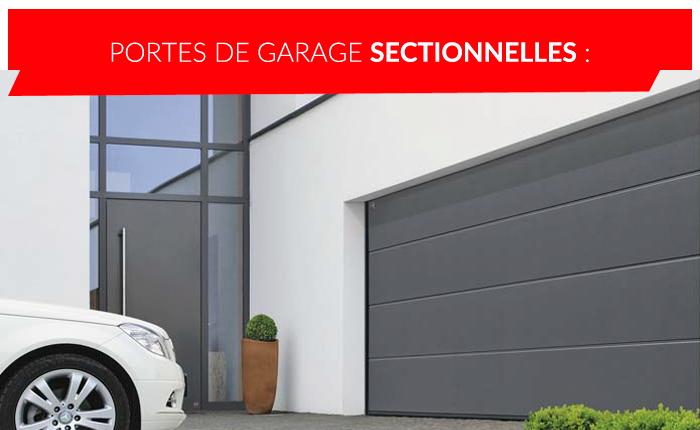 Portes de garage sectionnelles à Liège