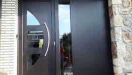 Installation de châssis PVC Deceuninck à Soumagne