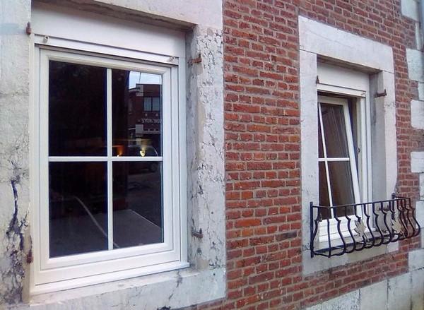Châssis PVC à Liège (Soumagne)