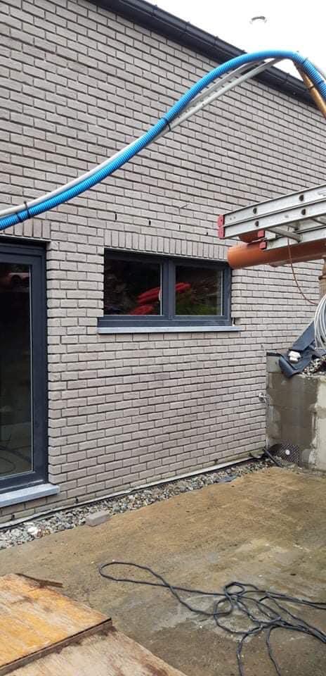 Châssis PVC Soumagne gris anthracite